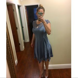 Komarov Dresses - Komarov charmeuse satin figure flattering dress.
